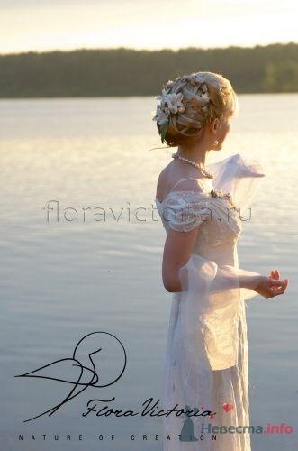 Украшение прически - фото 1317 Cвадебная флористика и декор событий FloraVictoria