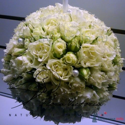 """Букет невесты """"Шар"""" - фото 1329 Cвадебная флористика и декор событий FloraVictoria"""