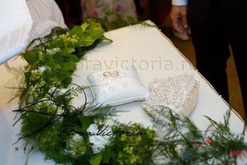 Выездная регистрация брака в ресторане. Оформление книги - фото 1342 Cвадебная флористика и декор событий FloraVictoria
