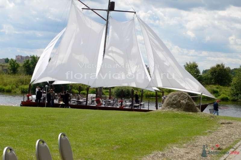 Выездная регистрация брака на корабле - фото 29418 Cвадебная флористика и декор событий FloraVictoria
