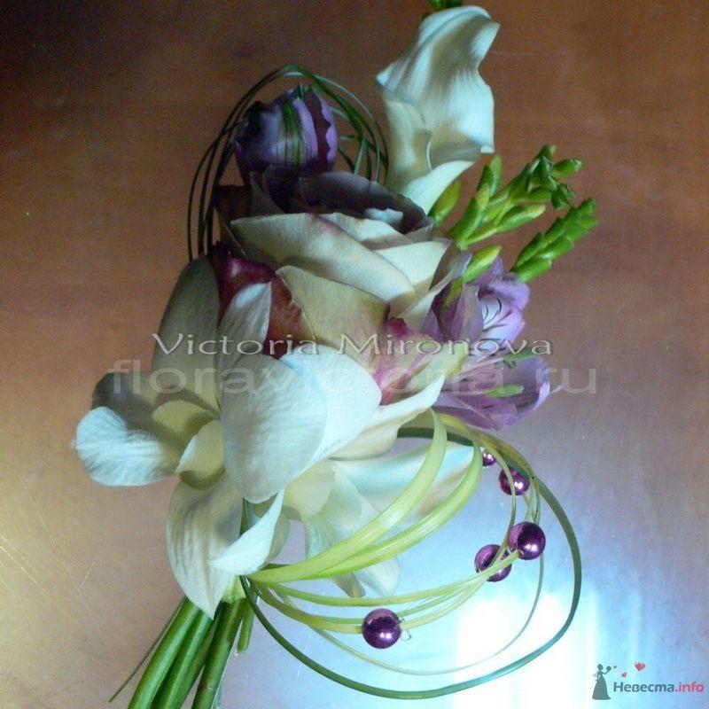 Бутоньерка жениха - фото 29431 Cвадебная флористика и декор событий FloraVictoria