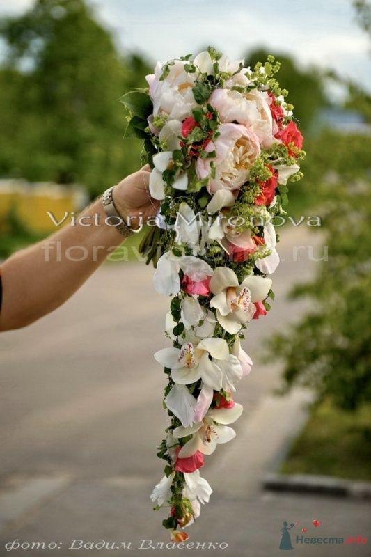 Букет невесты - фото 29441 Cвадебная флористика и декор событий FloraVictoria