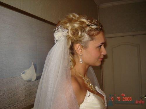 Стильный, красивый образ для невесты -  это моя работа.  - фото 6979 Парикмахер и стилист-визажист - Елена Иванова