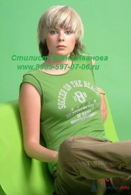 Окрашивание волос, укладка, визаж. - фото 35844 Парикмахер и стилист-визажист - Елена Иванова