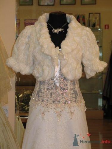 Болеро для невесты 819 - фото 15789 Невеста01