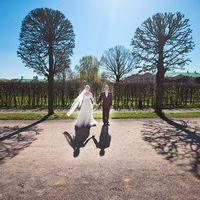 весенняя свадьба