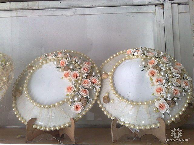 Свадебная тарелка для битья мастер класс