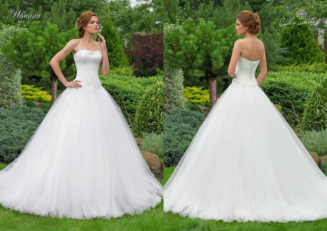 "Фото 8119334 в коллекции Lady White - Beauty of your name - Студия свадебного платья ""Облако любви"""