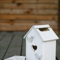 Казна, коробочка для конвертов в стиле рустик.