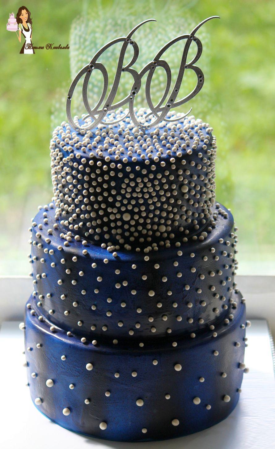 """Фото 6384831 в коллекции Мои свадебные торты - Студия торта """"Сахарная пудра"""""""