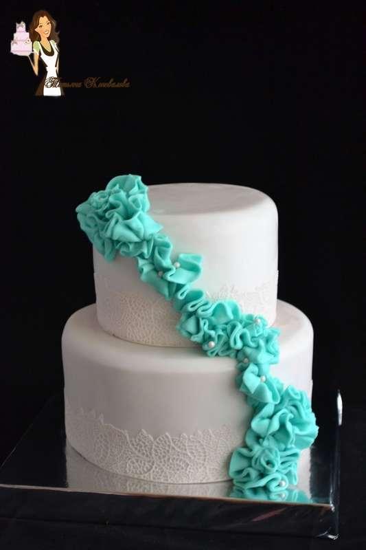 """Фото 6989278 в коллекции Мои свадебные торты - Студия торта """"Сахарная пудра"""""""