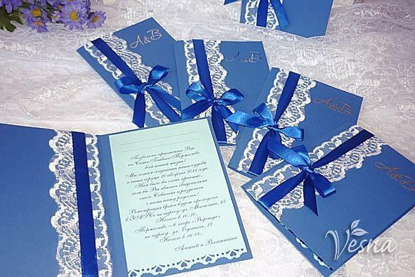Фото 523016 в коллекции Приглашения - Vesna-Art - аксессуары для свадьбы