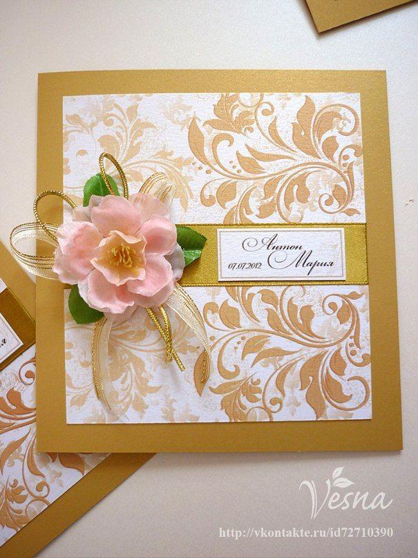 Фото 523020 в коллекции Приглашения - Vesna-Art - аксессуары для свадьбы