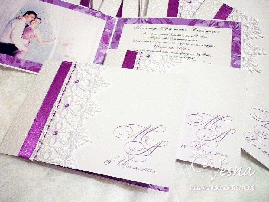 Фото 2459361 в коллекции Приглашения - Vesna-Art - аксессуары для свадьбы
