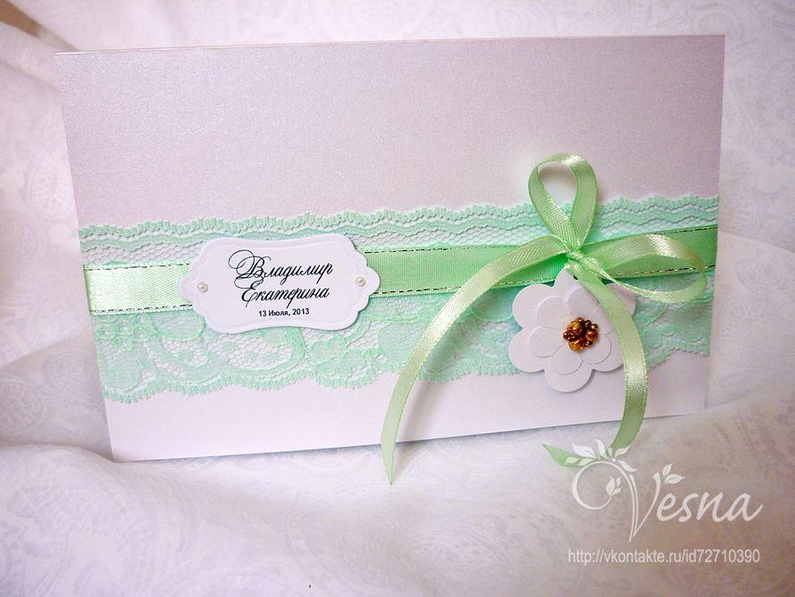 Фото 2459371 в коллекции Приглашения - Vesna-Art - аксессуары для свадьбы