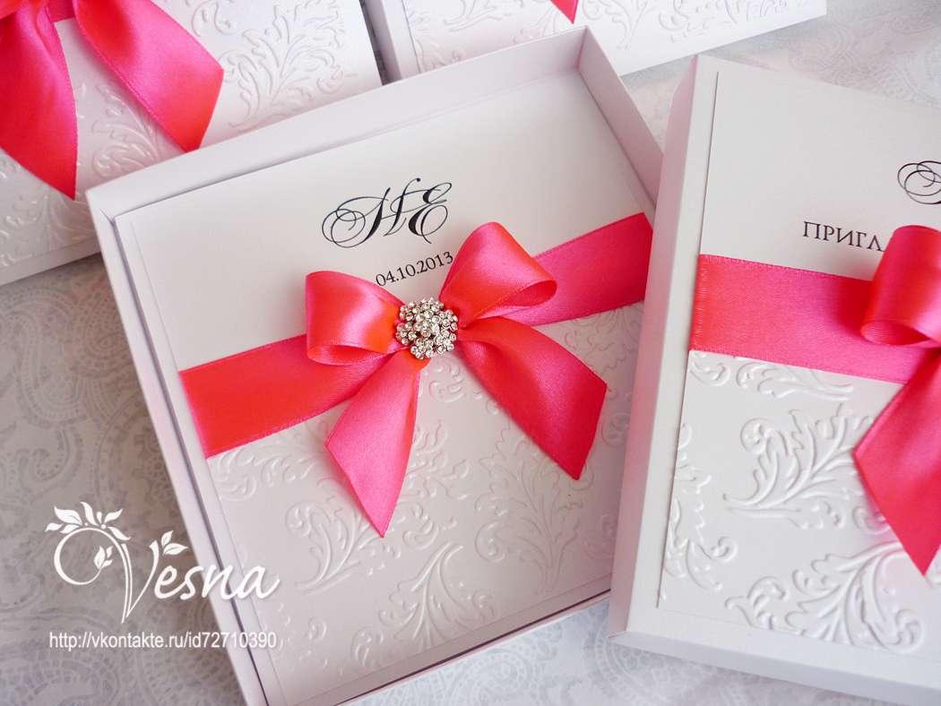 Фото 2459381 в коллекции Приглашения - Vesna-Art - аксессуары для свадьбы