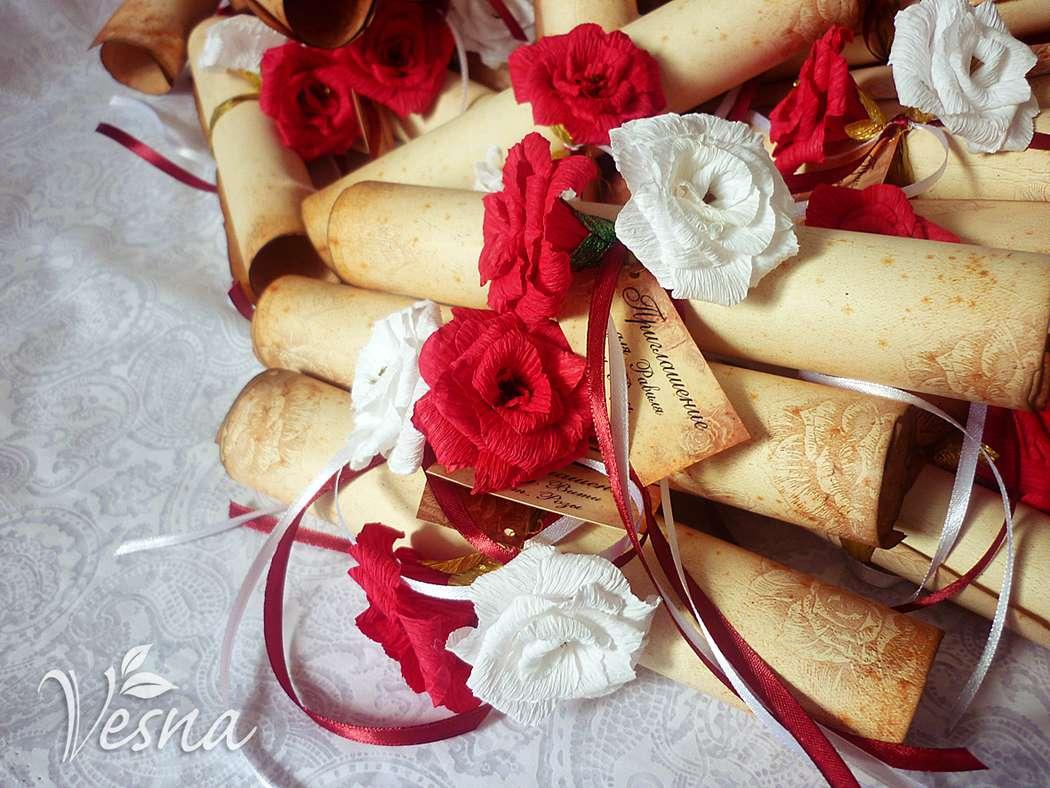 Фото 2459453 в коллекции Приглашения - Vesna-Art - аксессуары для свадьбы