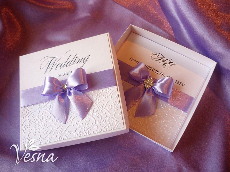 Фото 2459459 в коллекции Приглашения - Vesna-Art - аксессуары для свадьбы