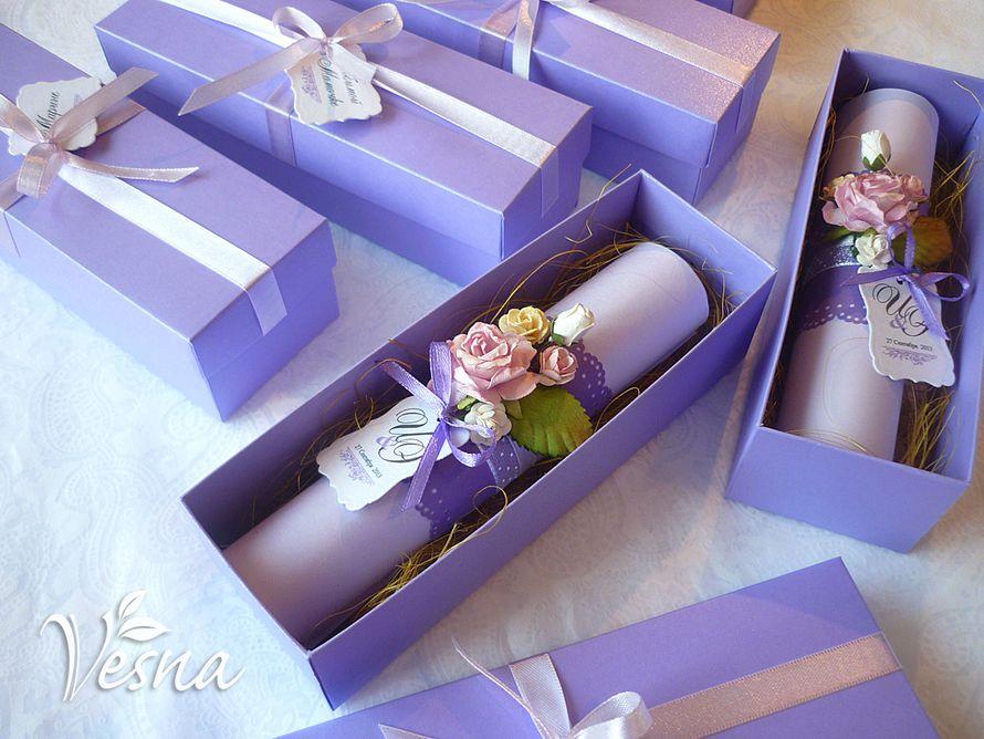 Фото 2459461 в коллекции Приглашения - Vesna-Art - аксессуары для свадьбы