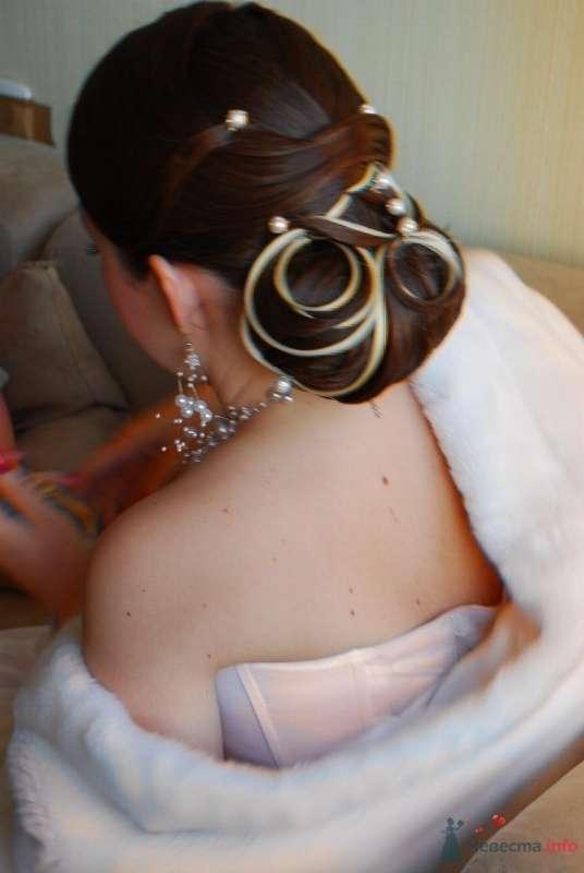 свадебная причёска  из длинных волос - фото 67066 Свадебный стилист Татьяна Мартынова