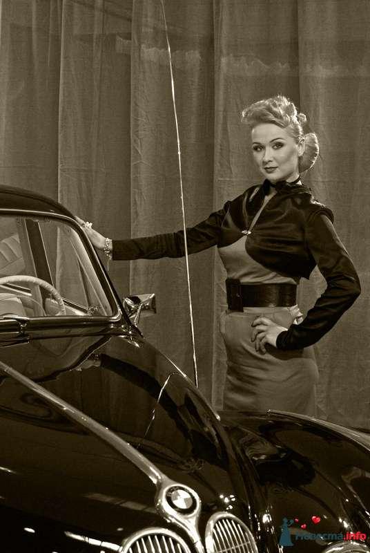 Прическа в стиле ретро - фото 85418 Свадебный стилист Татьяна Мартынова