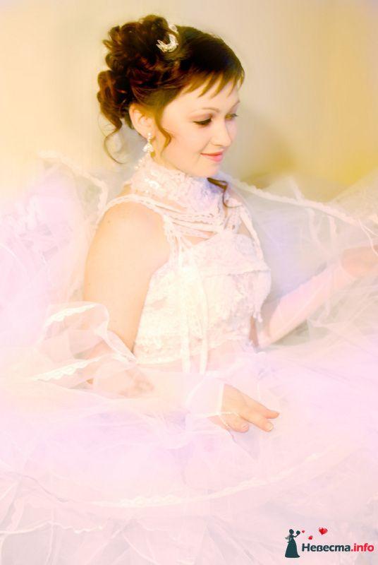свадебная причёска  из длинных волос - фото 85444 Свадебный стилист Татьяна Мартынова
