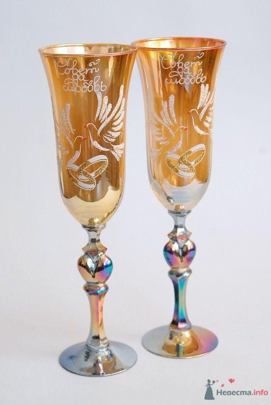 Свадебные бокалы, арт. 114-002