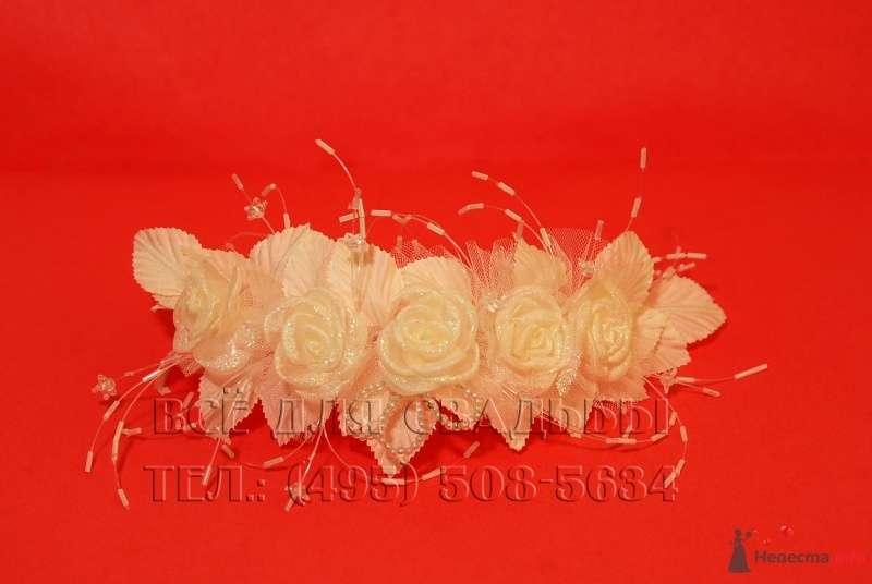 """Арт.116-001 Украшения для невесты: Веночек для волос - фото 50728 """"Все для свадьбы"""" - салон аксессуаров и услуг"""