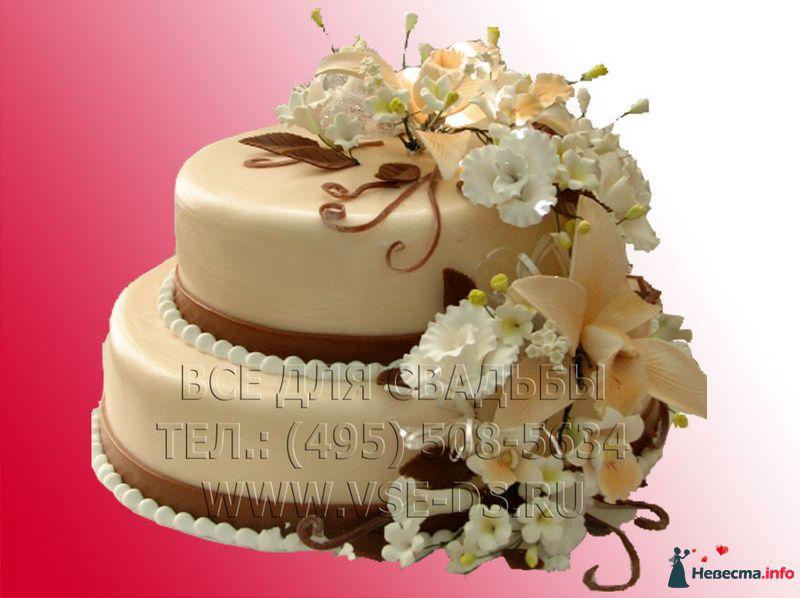"""Фото 81880 в коллекции Свадебные торты - """"Все для свадьбы"""" - салон аксессуаров и услуг"""