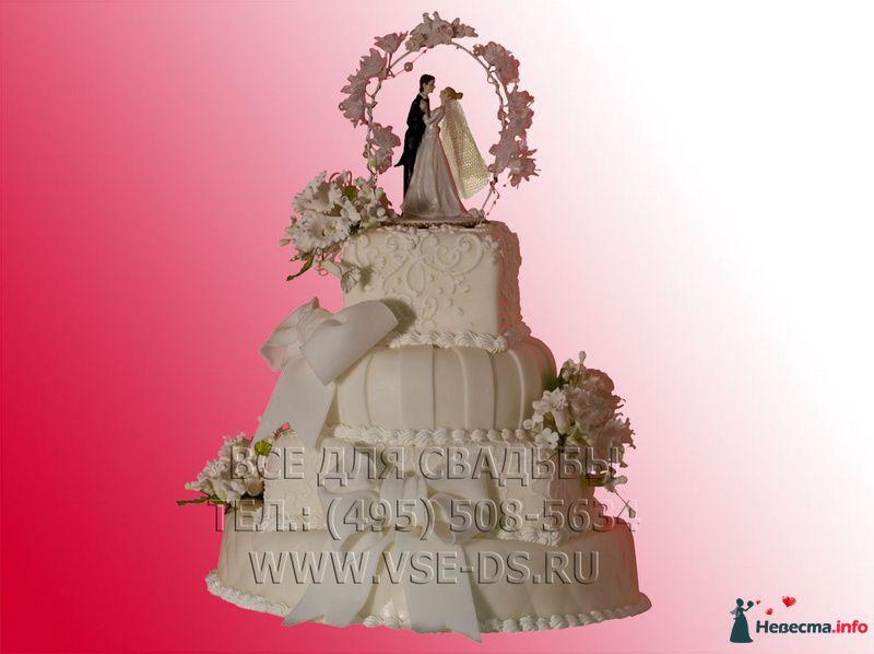 """Фото 81882 в коллекции Свадебные торты - """"Все для свадьбы"""" - салон аксессуаров и услуг"""
