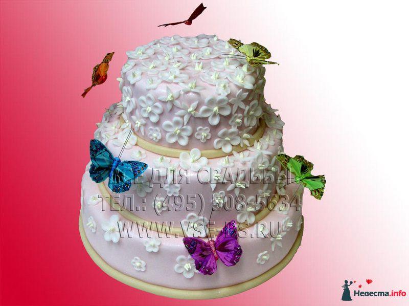 Фото 99310 в коллекции Свадебные торты