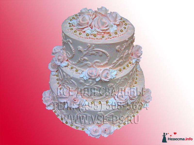 """Фото 99315 в коллекции Свадебные торты - """"Все для свадьбы"""" - салон аксессуаров и услуг"""