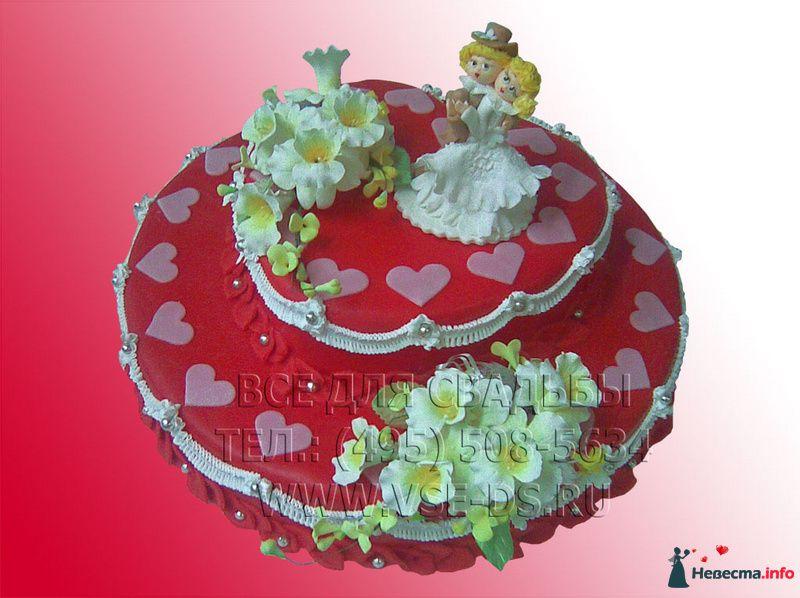 """Фото 99316 в коллекции Свадебные торты - """"Все для свадьбы"""" - салон аксессуаров и услуг"""
