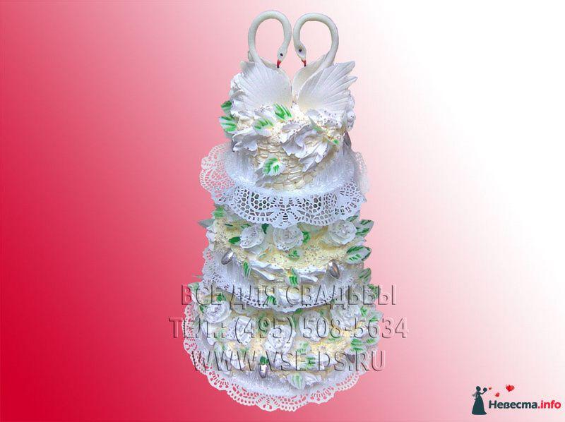Фото 99323 в коллекции Свадебные торты