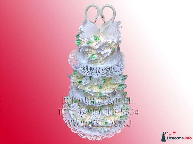 """Фото 99323 в коллекции Свадебные торты - """"Все для свадьбы"""" - салон аксессуаров и услуг"""