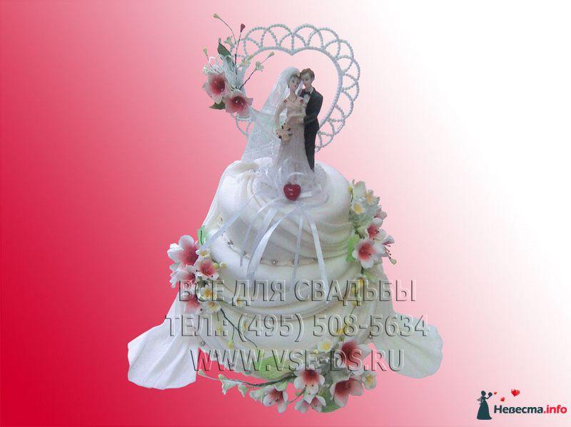Фото 99327 в коллекции Свадебные торты