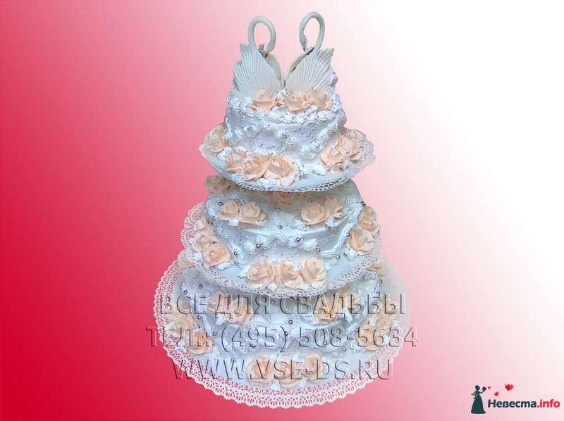 """Фото 99328 в коллекции Свадебные торты - """"Все для свадьбы"""" - салон аксессуаров и услуг"""