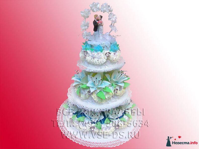 Фото 99330 в коллекции Свадебные торты