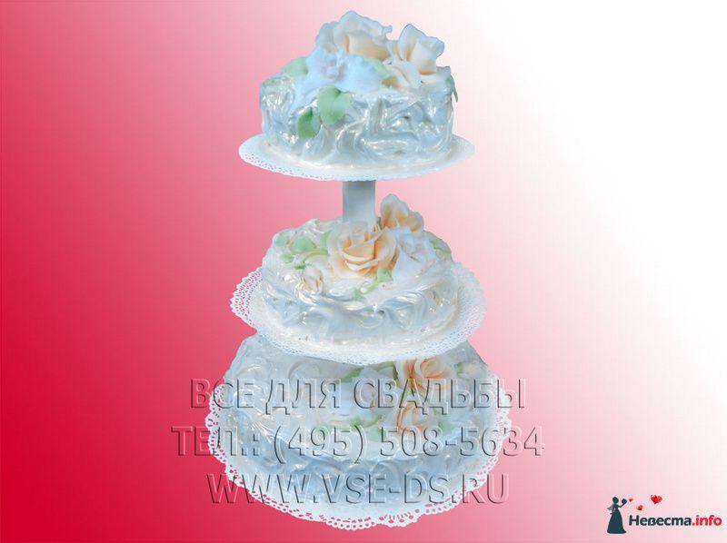 """Фото 99337 в коллекции Свадебные торты - """"Все для свадьбы"""" - салон аксессуаров и услуг"""