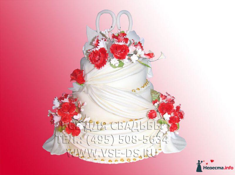 """Фото 99345 в коллекции Свадебные торты - """"Все для свадьбы"""" - салон аксессуаров и услуг"""