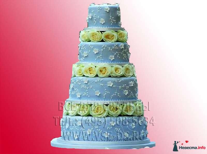 """Фото 99352 в коллекции Свадебные торты - """"Все для свадьбы"""" - салон аксессуаров и услуг"""