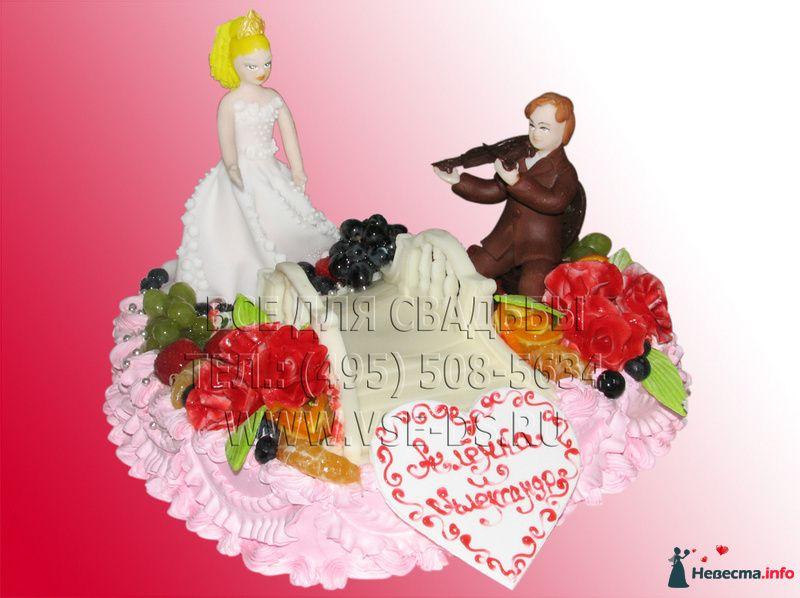 """Фото 99361 в коллекции Свадебные торты - """"Все для свадьбы"""" - салон аксессуаров и услуг"""