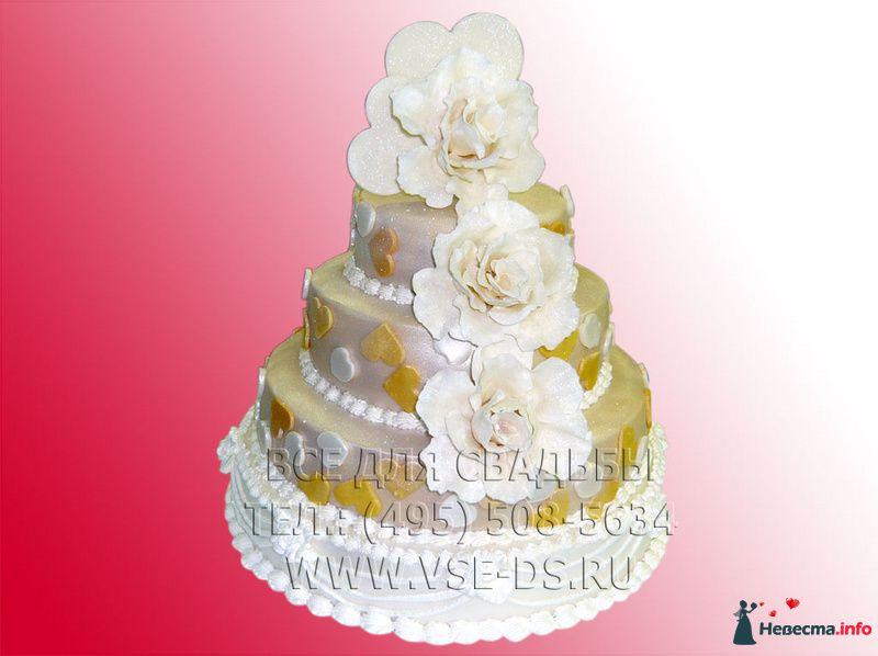 """Фото 99363 в коллекции Свадебные торты - """"Все для свадьбы"""" - салон аксессуаров и услуг"""
