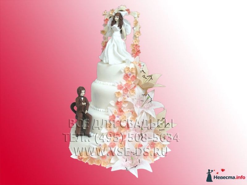 """Фото 99365 в коллекции Свадебные торты - """"Все для свадьбы"""" - салон аксессуаров и услуг"""