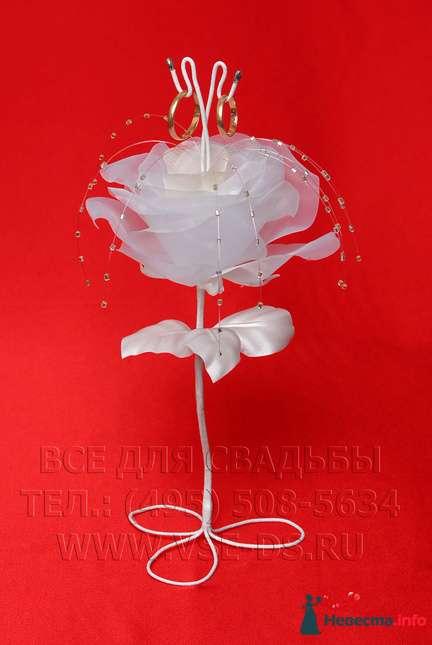 """Подставка для колец """"Цветок"""". Авторская работа. - фото 112387 """"Все для свадьбы"""" - салон аксессуаров и услуг"""