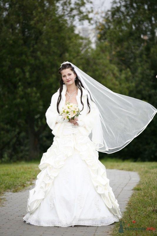 Фото 51624 в коллекции Пышное свадебное платье с аксессуарами