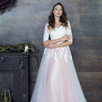 Платье на бескорсетной основе - легкое удобное, нежное и красивое. Размер 42-44