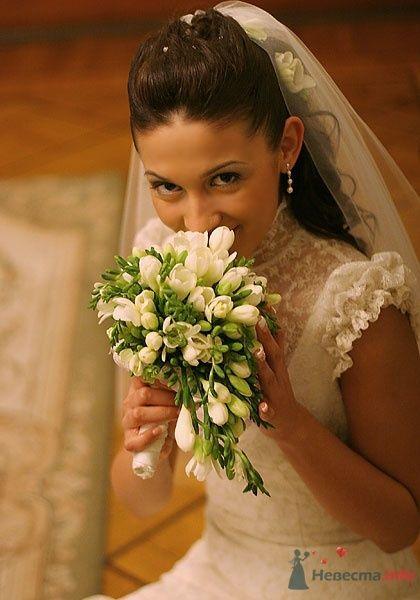 Свадебный букет из Фрезий - фото 44107 Невеста01