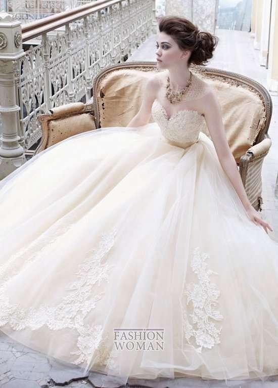 5778c2f6d8b Свадебные платья Lazaro осень-зима 2012-2013   Невеста.info   8 ...