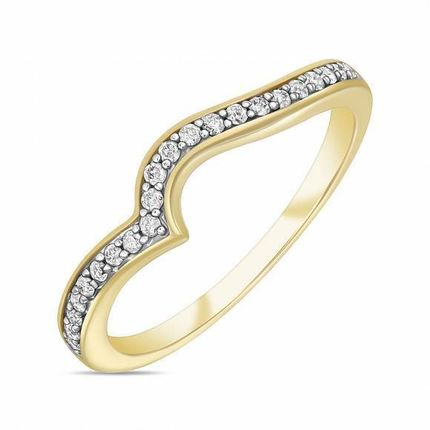Обручальное кольцо с бриллиантами. На заказ
